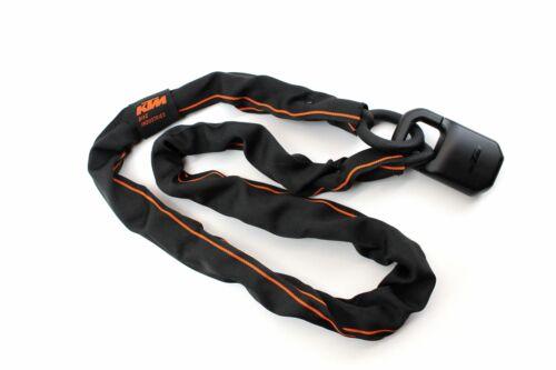 KTM Fahrradschloss Kettenschloss Zahlenschloss Pro U-lock Chain schwarz orange