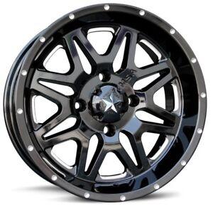 MSA-M26-Vibe-ATV-Wheel-Milled-Black-14x7-0mm-4-156-M26-04756M
