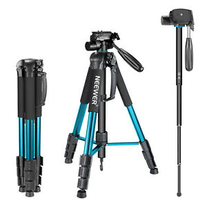 Neewer-Portable-Aluminum-Alloy-Camera-Tripod-Monopod-for-Canon-Nikon-Sony-DSLR