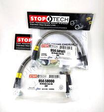StopTech 06-07  300C SRT-8 Stainless Steel Rear Brake Lines 950.63502