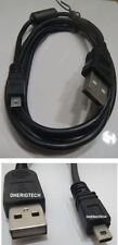 PANASONIC LUMIX DMC-FZ18 USB DATA SYNC/TRANSFER CABLE LEAD FOR PC / MAC