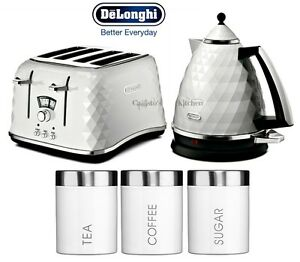 Image Is Loading Delonghi Brillante Kettle And Toaster Set Tea Coffee