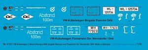 Peddinghaus-Decals-1-16-3577-Vw-Kubelwagen-2-Etiquettes-Dak-Brigade-Ramcke