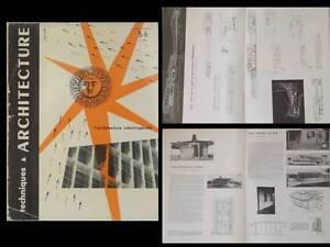 Techniques Et Architecture 1952 Jean Prouvé, Maison Tropicale, Afrique Officiel 2019