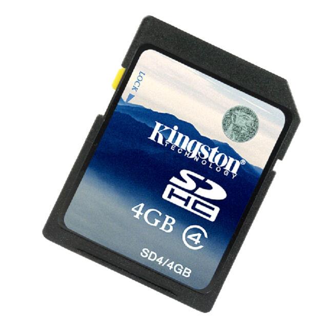 Kingston 4GB SD Class4 Secure Digital Memory Flash Card C4 SDC4/4G for Camera