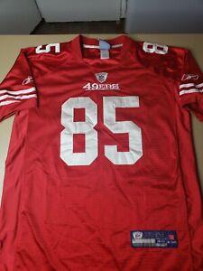 Vintage SAN FRANCISCO 49ERS VERNON DAVIS #85 REEBOK NFL Equipment ...