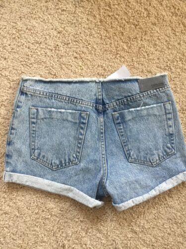 Pantaloncini 26 Orlo Lf No Risvolto Cintura Carmar Alta Con Taglie Medio Jeans a7w781Ux