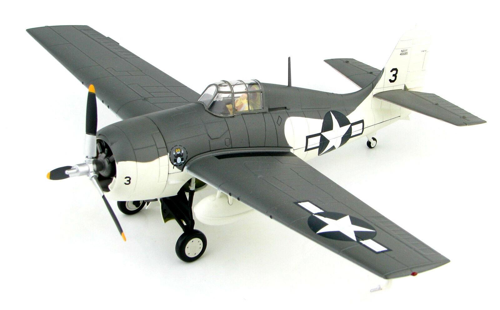 Hobby Master 1 48 Us Navy Grumman F4F-4 Wildcat Fighter-VC-12, 1944,  HA8903