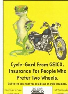 2004 Geico Motorcycle Insurance For People Who Prefer Two Wheels