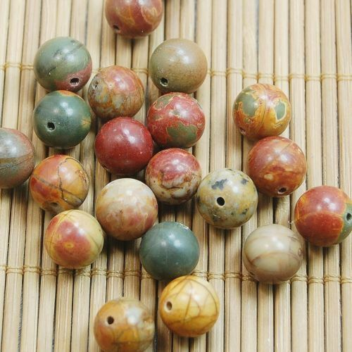 40Pcs NEW Wholesale Natural Gemstone Round Spacer Loose Beads 4MM 6MM 8MM 10MM