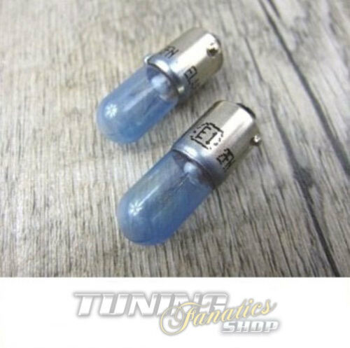 2x super white ampoules feu de position ba9s t4w xenon blanc lampes Cobalt Blue tv librement