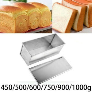 Rectangle Non-stick Box Large Loaf Tin Kitchen Pastry Bread Cake Baking Bakeware