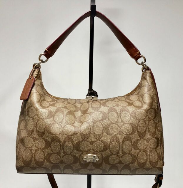 COACH F34899 East West Celeste Convertible Hobo Signature Handbag MSR  350. f6c23a7a78