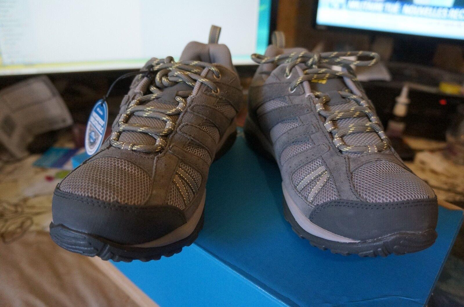 Columbia Dakota Drifter, Chaussures de Randonnée Basses femme, Gris 39.5 EU