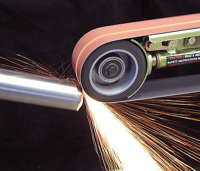 """MultiTool 2""""x36"""" Bench Grinder Attachment - Make it into a Metal Finishing Tool"""