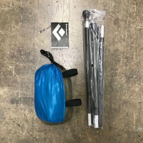 Nuevo Mega Diamante Negro refugio de Luz//4 Persona Tienda-Azul//Plata Conjunto Completo
