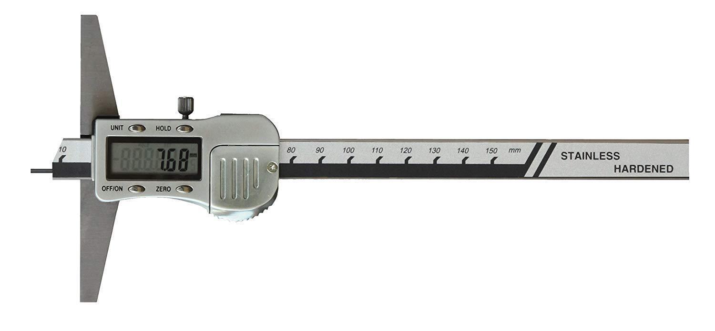 Digital Tiefen- Pointe Caliper 150 X 100 mm avec Pointe Tiefen- Du Stylet Ø1 ,Lot de 5 6 Din 1ee7c7