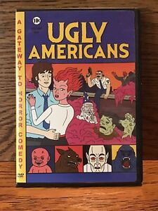 Ugly-Americans-A-Gateway-To-Horror-Comedy-DVD-Disc-VG-Rare