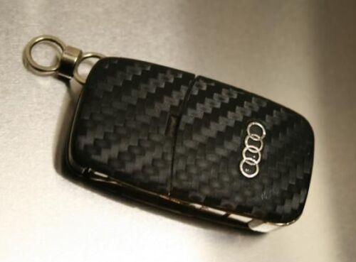 #1 Audi A1 A2 A3 A4 A6 A8 S RS S3 S4 S6 RS6 S8 Schlüsselfolie Carbon Key Sport