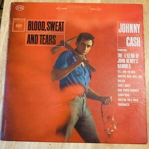 Johnny-Cash-Blood-Sweat-And-Tears-Vinyl-Record-LP-Columbia-CS-8730