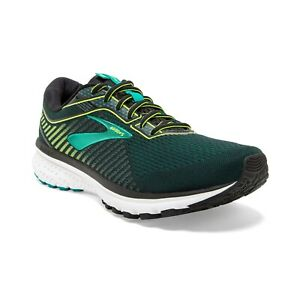 BROOKS-GHOST-12-Scarpe-Running-Uomo-Neutral-BLACK-LIME-BLUE-GRASS-110316-1D-018