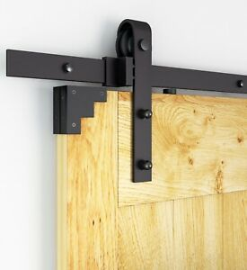 Fabulous DIYHD rustikalen Holz Schiebetüren Beschläge antike Schiebetür UW28