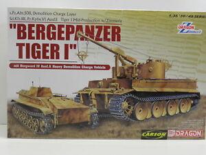 Dragon 6865 /_ Bergepz Tiger I mit Borgward IV Ausf.A /_ 1:35