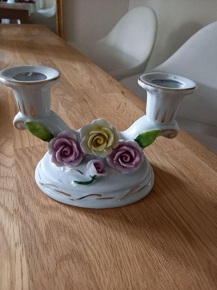 Porcelæn, Lysestage