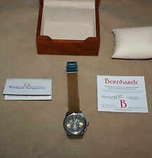 Bernhardt Chronograph Watch Sheriff Dept Mecklenburg County North Carolina New
