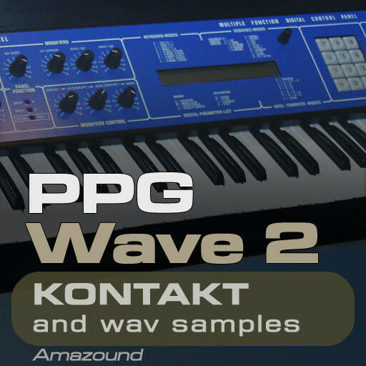 WALDORF PPG WAVE 2 KONTAKT 256 nki + 2048 WAV SAMPLES 1.8G 24bit MAC PC MPC TRAP