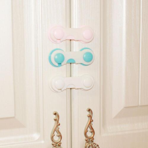 10Pcs Baby Kids Box Drawer Cupboard Cabinet Wardrobe Door Fridge Safety Lock