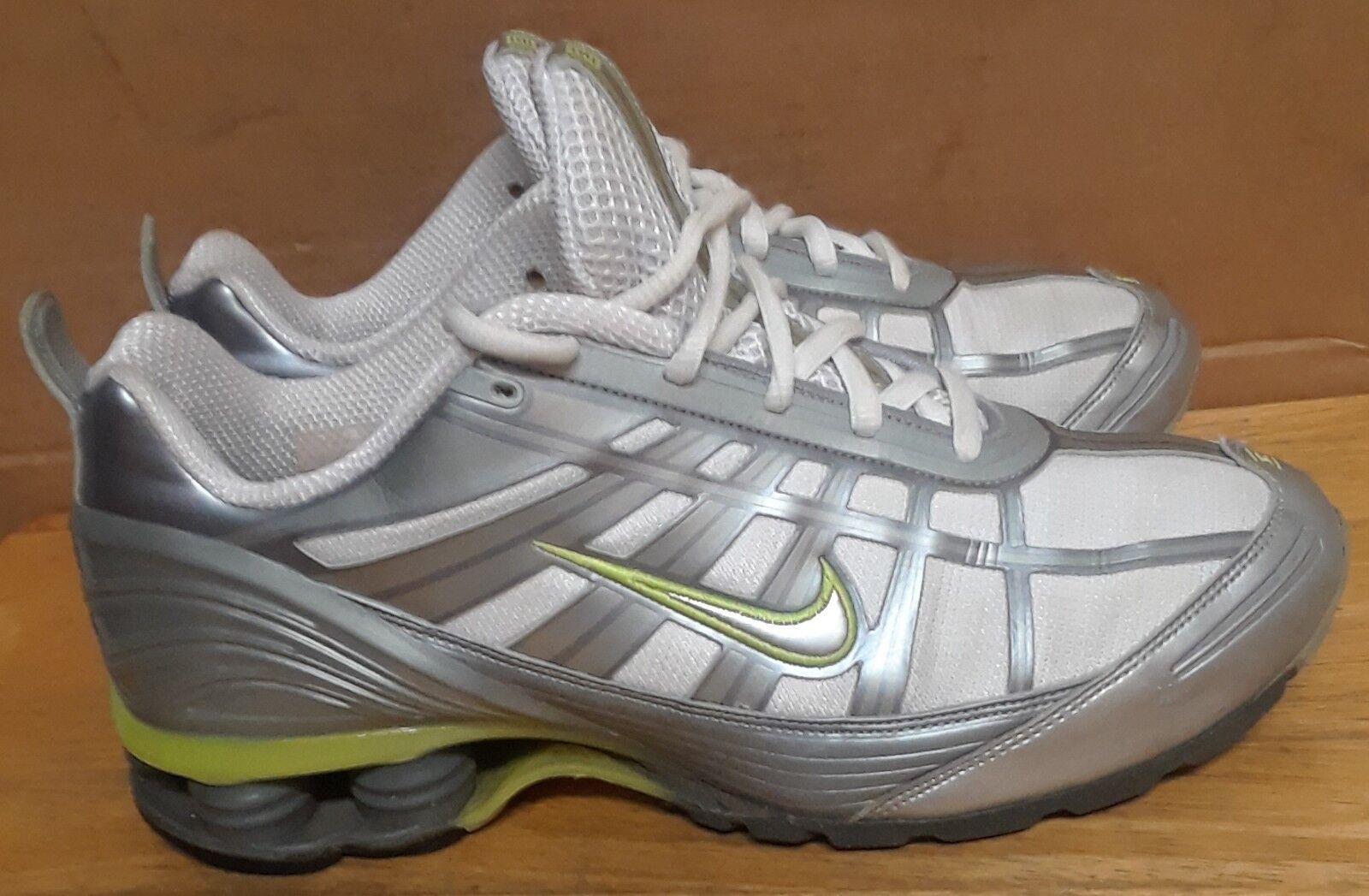 NIKE SHOX Tuned For Women 312522-101 women's athletic shoe size 8.5