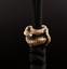 Snake Buddha Beads Lanyard Bead Pendant Tibetan silver Brass EDC DIY Accessories