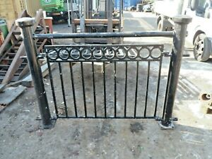Details about WROUGHT IRON /METAL RAILING FENCING