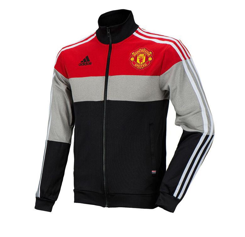 Adidas Manchester United Track de Superdry Chaqueta de Abrigo de Capacitación de Fútbol de AJ1247