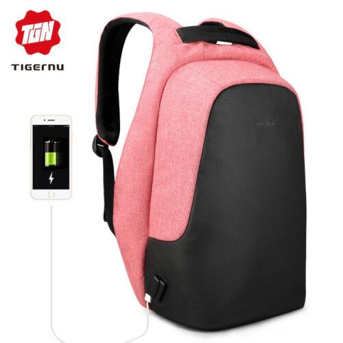 Tigernu Anti vol Hydro Repellent USB Charging Sacs à dos Sac à dos Sac d/'école
