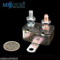 12 Volt 50 Amp Dc Auto Reset Wind Turbine Generator Fuse Circuit Breaker