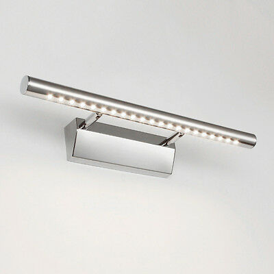 Waterproof 7W LED Mirror Picture Wall Light 5050 Bathroom Strip Bar Lamp Home ZD
