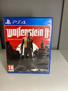 jeu ps4 wolfenstein 2 the new colossus