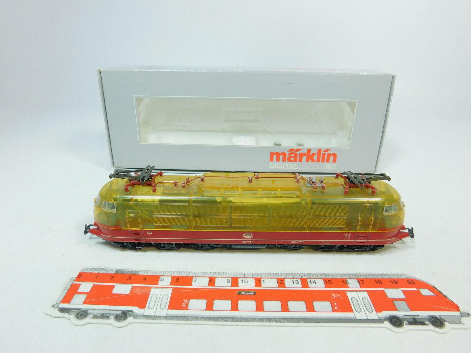 Av108-1  Märklin Marklin H0 AC 3757 Electric Locomotive (Transparent) 103 121-0
