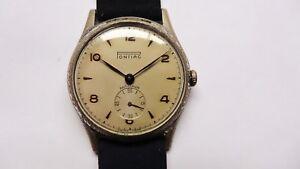 PONTIAC-military-style-vintage-watch-handwinder