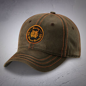 add101049a9 Harley Davidson HOG Ball cap NEW NICE NWT NEW CHARCOAL BROWN ...
