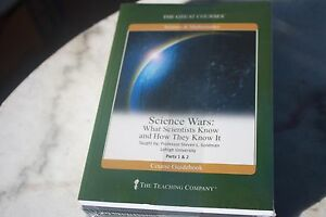 Great-Courses-factory-sealed-New-Science-Wars-4-DVD-s-Guidebook