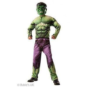 Stock photo  sc 1 st  eBay & Marvel Avengers Assemble Incredible Hulk Kids Costume Classic No ...