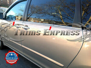 fit-2004-2010-Toyota-Sienna-4Pc-Window-Sill-Trim-Overlay-Chrome-Stainless-Steel