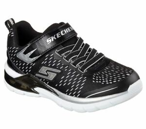 Details zu NEU SKECHERS Jungen Sneakers Turnschuh ERUPTERS II LAVA ARC Schwarz *blinkt*