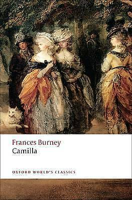 1 of 1 - Camilla: Picture of Youth (Oxford World's Classics), Good Condition Book, Burney