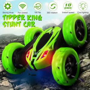 Kids-360-Stunt-Coche-Modelo-2-4G-LED-4WD-de-Alta-Velocidad-RC-Control-Remoto-Juguete-Off-Road