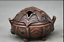 3-8-034-Old-Chinese-Red-Bronze-Dynasty-Beast-Zun-Statue-Incense-Burner-Censer thumbnail 5