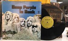 DEEP PURPLE Deep Purple in Rock WS1877 LP Green Label Warner Bros.